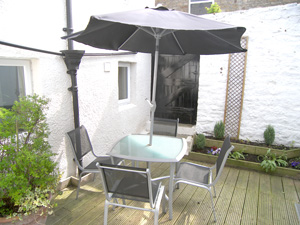 The Courtyard at Red Lion Cottage, Teesdale